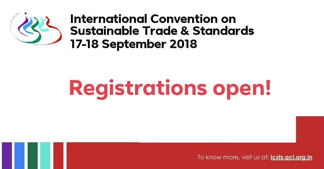 INTERNATIONAL CONVENTION ON SUSTAINABLE TRADE AND STANDARDS | 17-18 SEPTEMBER 2018