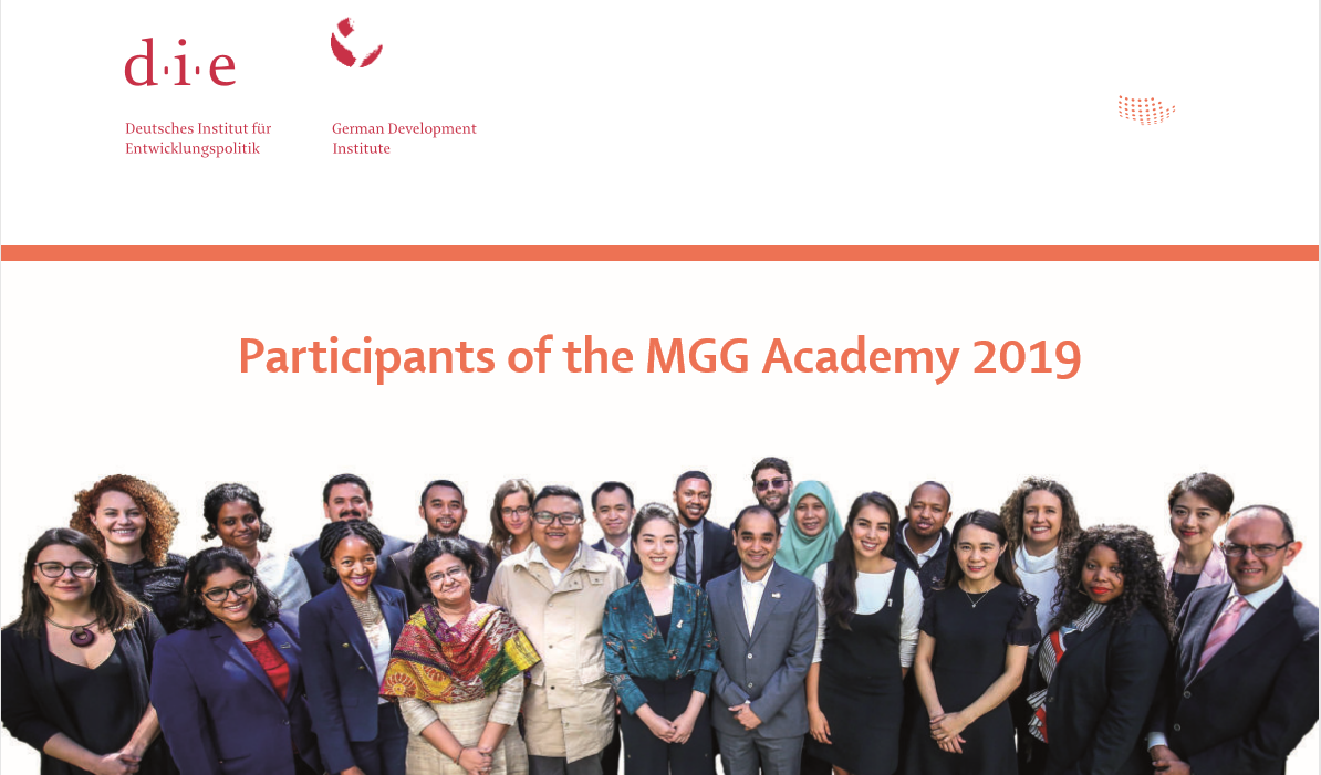 MGG Academy 2020 APPLICATION AND REQUIREMENTS